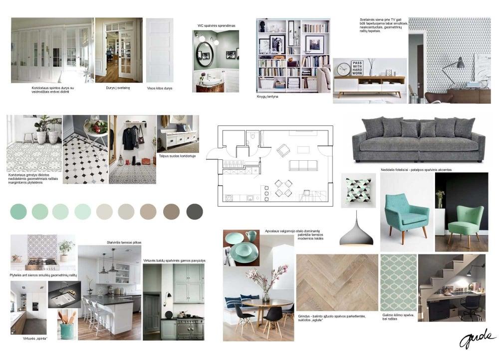 Interior Design Concepts Interior Designer Gerda Sutkienė