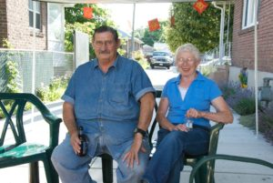 Neighbors Bob and Diane