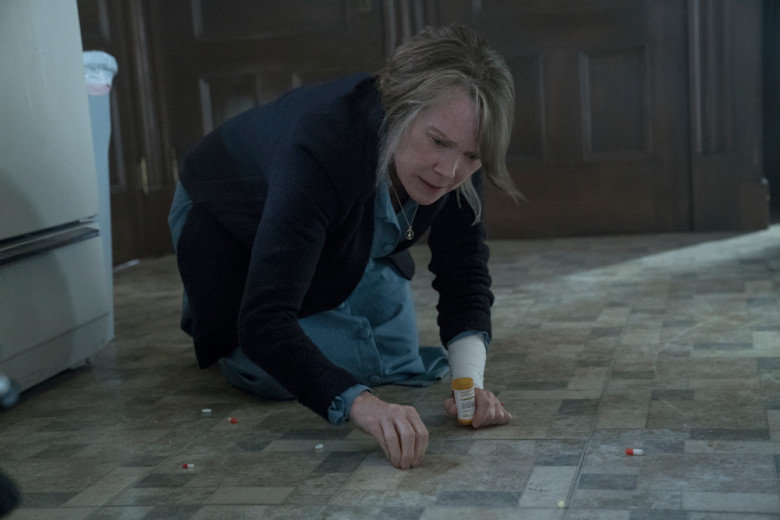 """Says Sissy Spacek, """"I read a book called Memory's Last Breath""""—part of her research for Castle Rock's """"The Queen"""""""