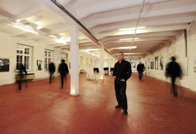 Ausstellungsansicht Alte Seifenfabrik, Lauterach