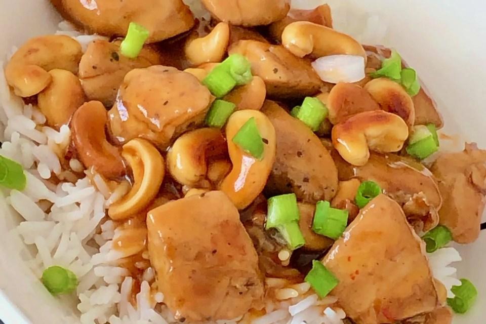 kostelijke cashew.kip