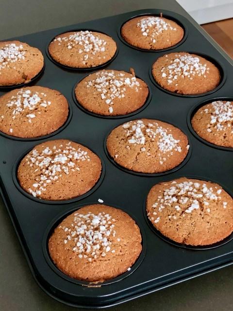 eenvoudige Vlaamse peperkoek muffins
