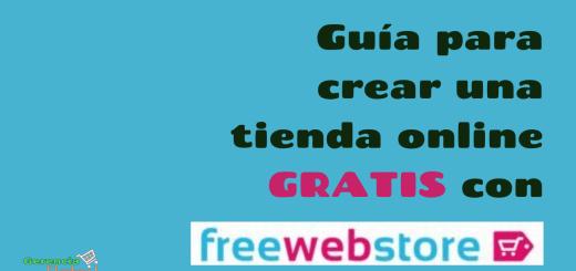 Guía freewebstore