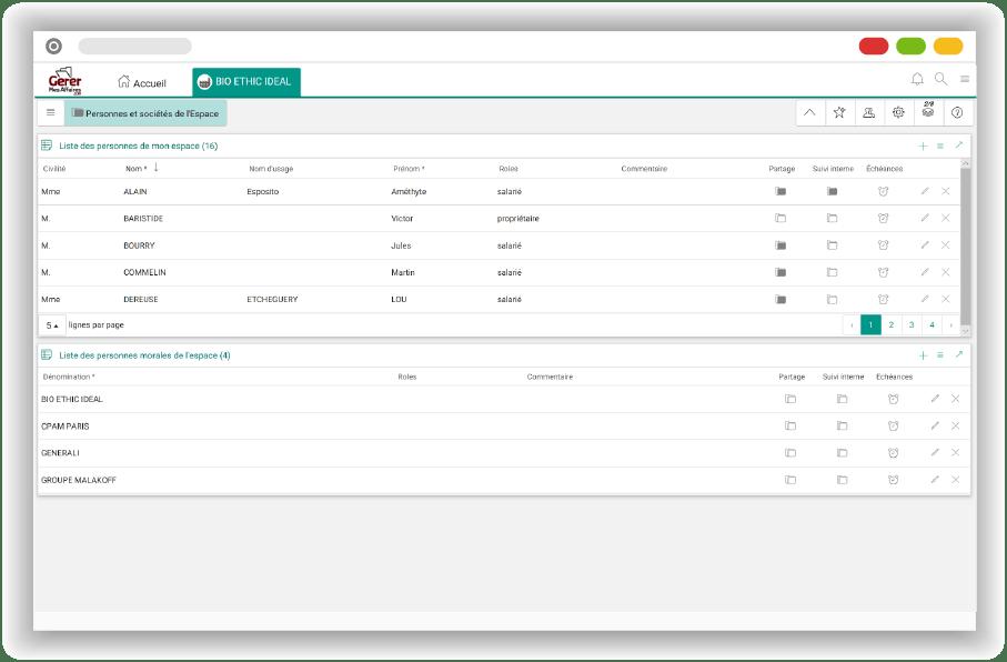 browser GerermesAffaires.com coffre-fort numérique professionnel