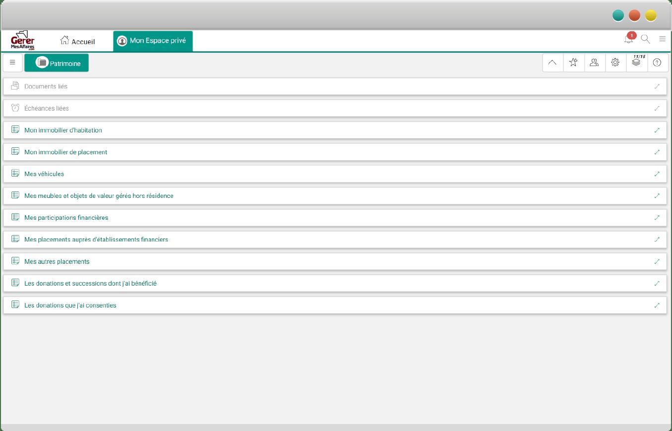 navigateur coffre-fort numérique sécurisé GererMesAffaires.com