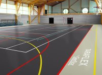 Taraflex Sports Flooring S - Carpet Vidalondon