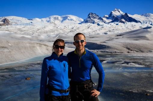 Wer ist cooler? Der Gletscher oder wir?