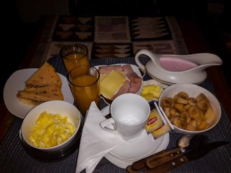 Frühstück in Futaleufu