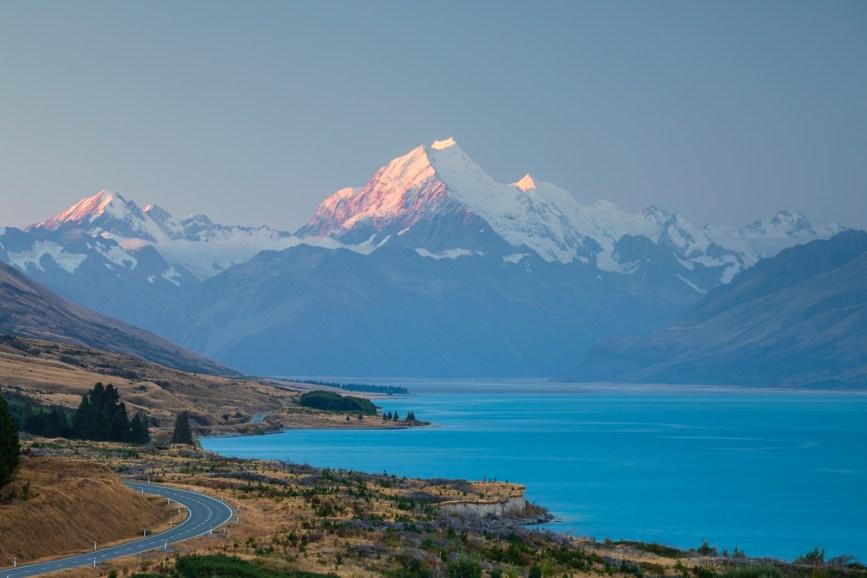Peter's Lookout mit Mount Cook