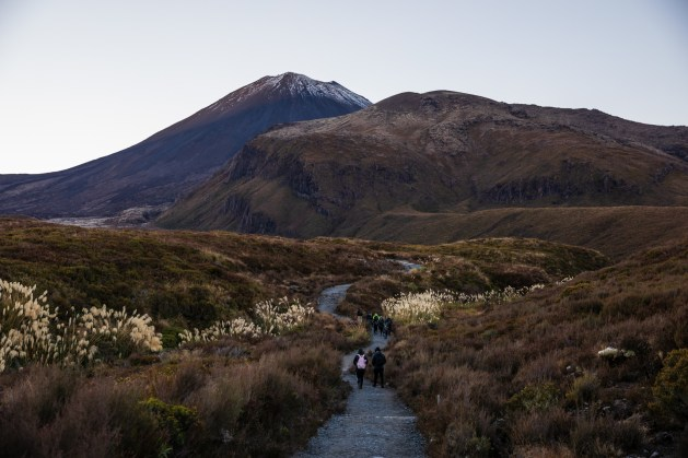 Los gehts zum Tongariro Alpine Crossing
