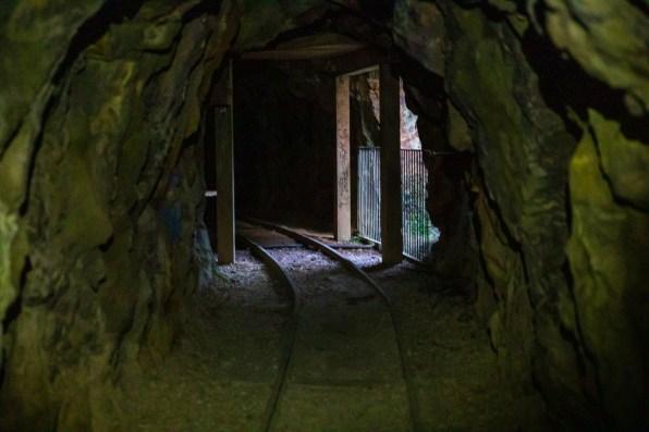 Tunnel in der Karngahake Gorge