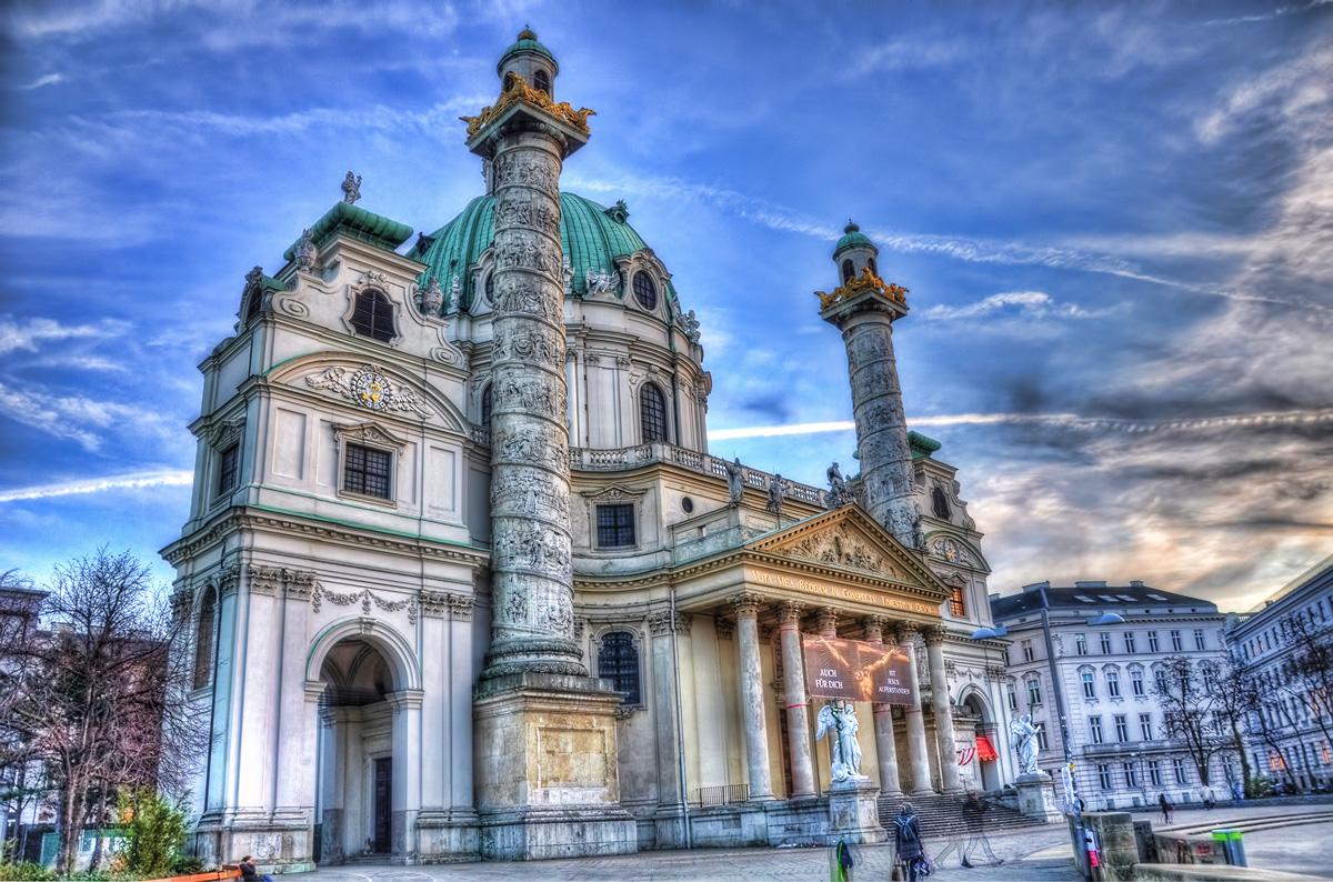Karlskirche am Karlsplatz