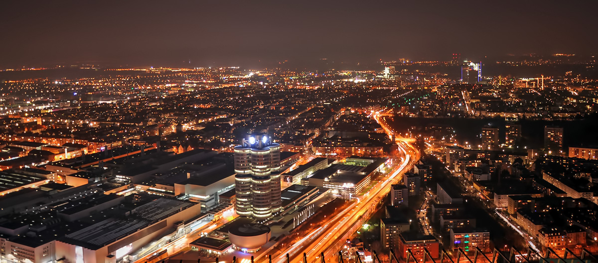 München in der Nacht