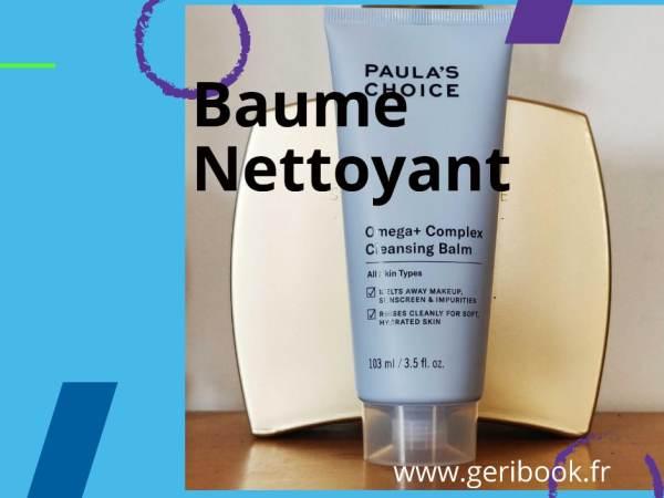 Avis sur Omega+ Complex Cleansing Balm – Baume Nettoyant visage Paula's Choice
