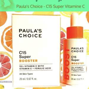 Quel avis sur Paula's Choice C15 Super Booster sérum vitamine C ?