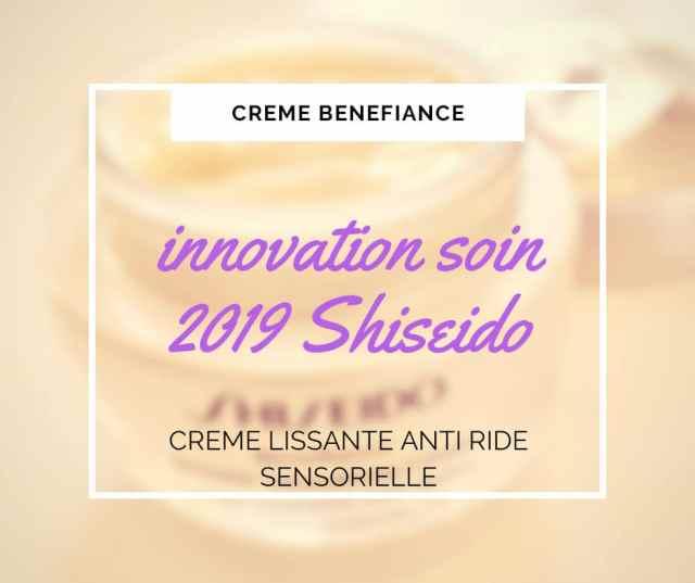 Crème Lissante Anti-Rides Benefiance de Shiseido