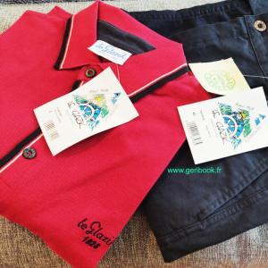 Polo & Bermuda mode homme Le Glazic – made in France coton bio