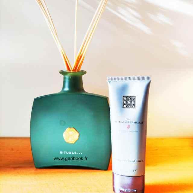 lotion mains pour homme Rituals Samurai : crème main grooming