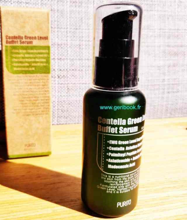 Purito Serum Centella Green Level Buffet Kbeauty