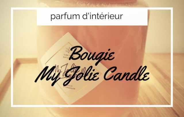 bougie oranger my jolie candle parfum maison