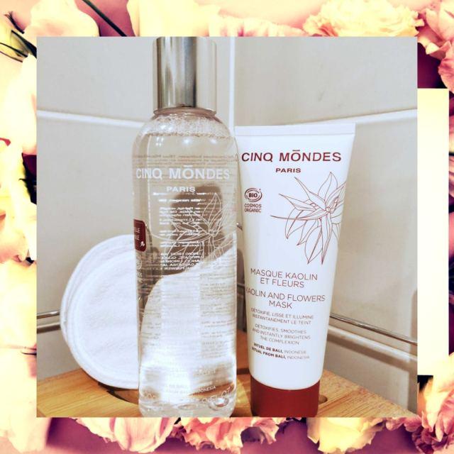 eau micellaire cinq mondes avis beauté cosmétique de luxe bio