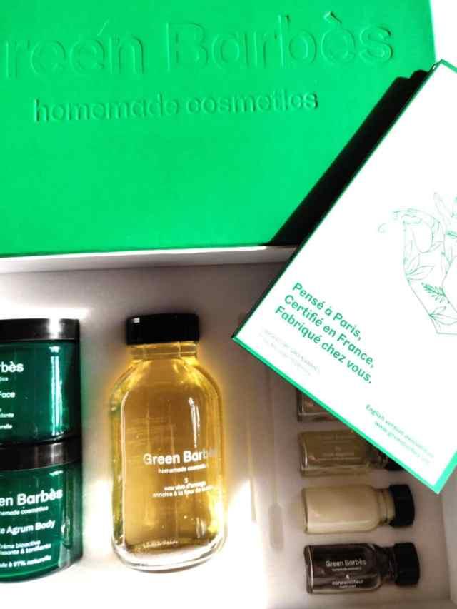 green barbes cosmetique maison naturel