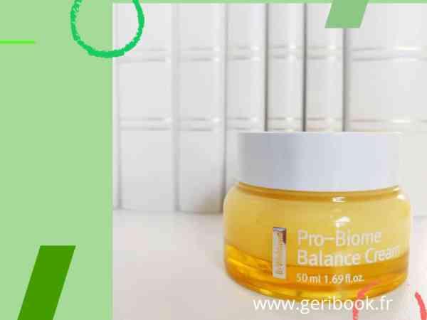 avis sur By Wishtrend Pro-Biome Balance Cream