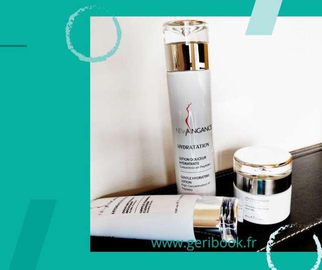 peptides visage hydratation routine hydratante. NEW ANGANCE routine hydratation Nettoyant respectueux Pré Hydratant préparateur Soin Hydratant