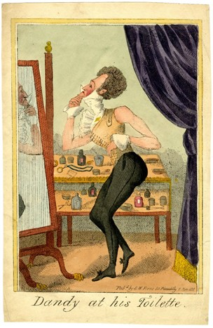 Dandy at his toilette