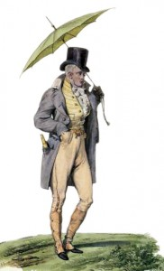 Dandy with a Parasol, Author's Collection