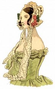 1830s bonnets