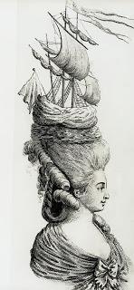 Georgian headdresses - Marie Antoinette