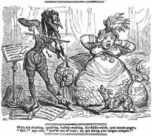 A Tormentor of Catgut, Public Domain