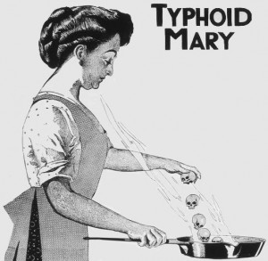 Mary Mallon, Better Known as Typhoid Mary, Public Domain