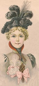 Hat Fashions for March 1898: Young Ladies' Hat, Author's Collection