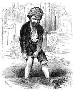 Mudlarks: A Lone Mudlark, Public Domain