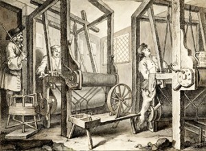Apprentices at Their Looms, Public Domain