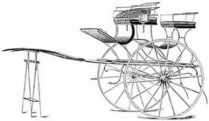 Hackney Gig From 1896, Public Domain