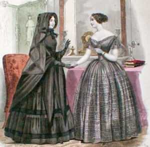 mourning etiquette and widow weeds