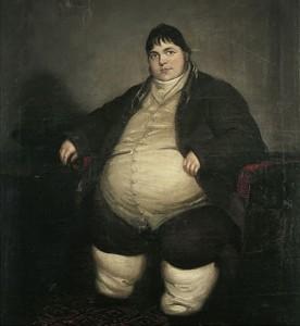 Daniel Lambert in 1806, Courtesy of Wikipedia