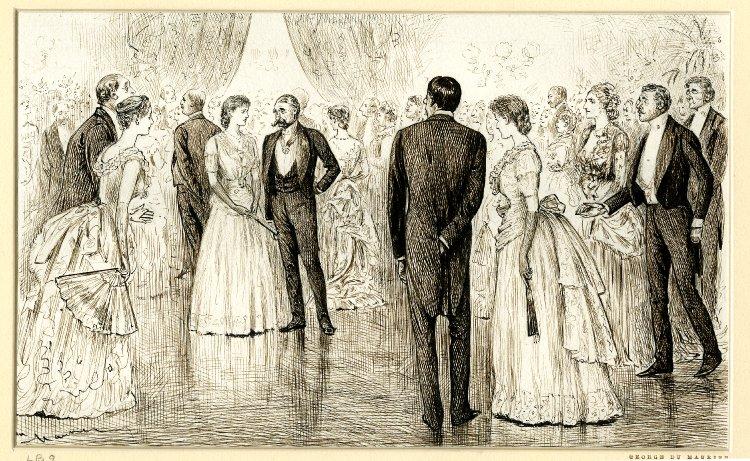 Ballroom etiquette - dancing a quadrille