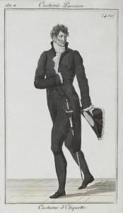 Costume Parisien d'Etiquette and Etiquette for Men, Author's Collection