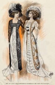 Haute Couture of 1909, Courtesy of Wikipedia