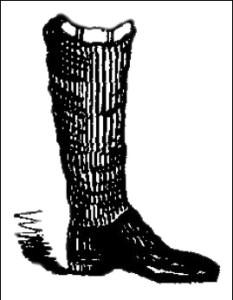 Men's boots - Ankle-Jacks, Public Domain