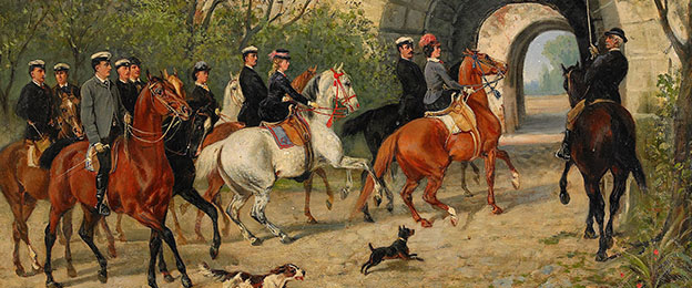 Riding ladies napoleon Before you