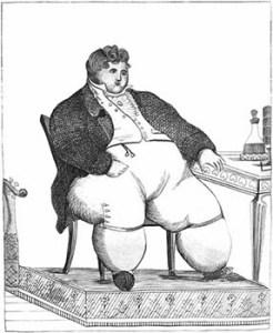 fattest men in England