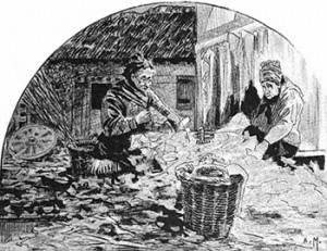 Sorting the Rag-and-bone Man's Finds, Public Domain