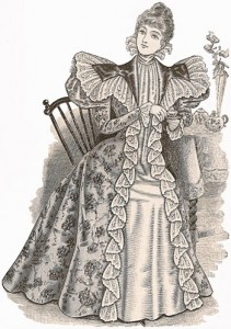 Tea-Gowns 1897, Author's Collection