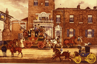 Mail Changing Horses by James Pollard, Courtesy of Wikipedia