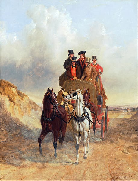 The Royal Mail on the Road by John Frederick Herring, Courtesy of Wikipedia